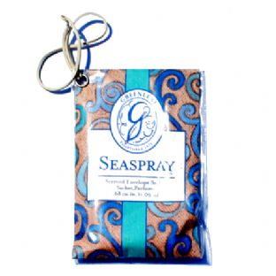 GREENLEAF SCENTED ENVELOPE CAR SACHET SEASPRAY